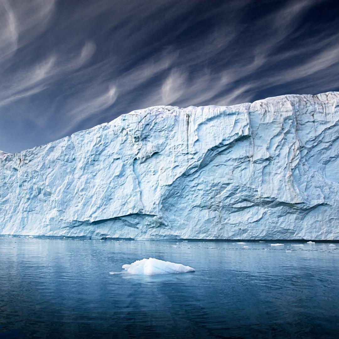 Fonte des glaciers au Groenland