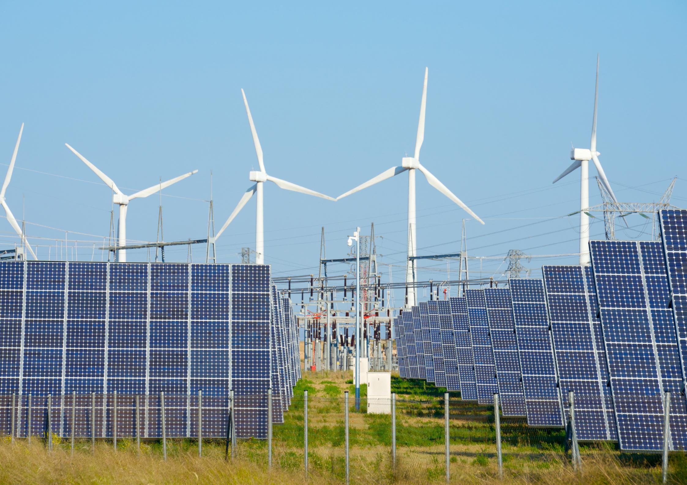 100 % d'énergie renouvelable en 2050